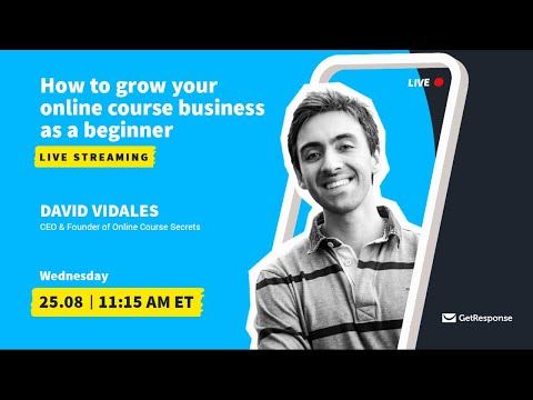 How to grow your online course business as a beginner [Video]