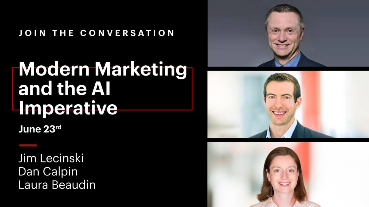 Modern Marketing and the AI Imperative [Video]