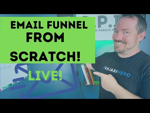 How To Build An Email Funnel With Convertkit [Video]