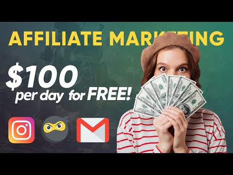Easy Affiliate Marketing using Instagram & Cold Emailing | Make $100 per Day [100% FREE] [Video]