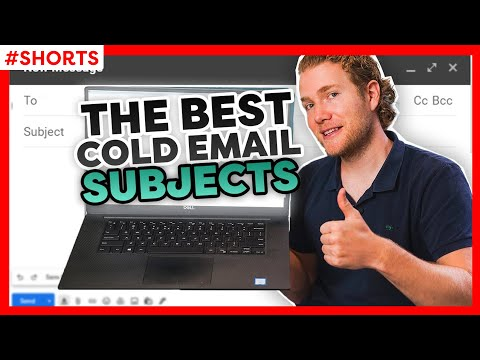 The BEST Cold Email Subject Line #Shorts [Video]