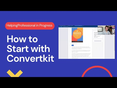 How to Start with ConvertKit To Make Money Online- MASSIVE ROADBLOCK AT THE END [Video]