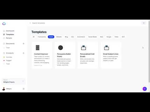 Jarvis.ai Email Subject Lines Template Review, Demo, & Tutorial  [Video]