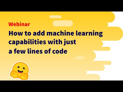 [Webinar] How to add machine learning capabilities with just a few lines of code [Video]