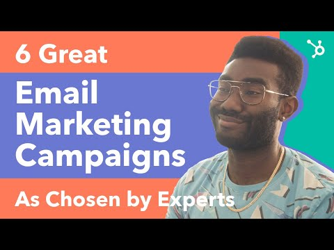 6 Great Email Marketing Campaigns (As Chosen By Experts) [Video]