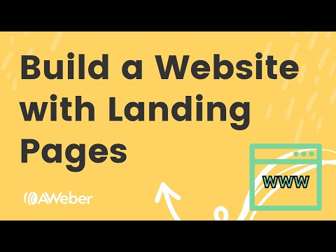 Build a website using only landing pages [Video]