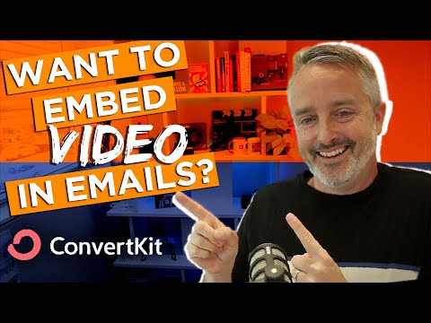 How to EMBED VIDEO in Email (ConvertKit Tutorial) [Video]
