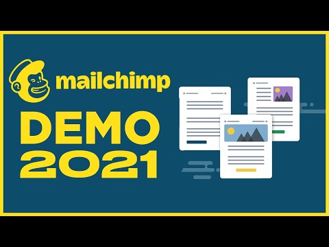 Mailchimp Demo 2021 – How to Use Mailchimp for Email Marketing [Video]