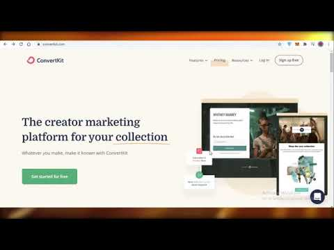 How to Use Convertkit to send emails l Email Marketing Software 2021 [Video]