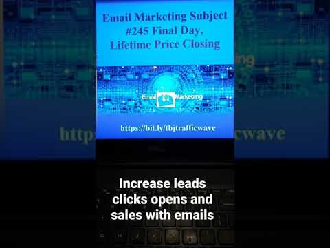 #email #shorts Email Marketing Subject Line #245 to increase clicks opens sales [Video]