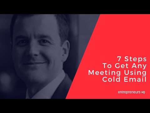 7 Steps To Get Any Meeting Using Cold Email – Bryan Kreuzberger Interview, Breakthrough Email [Video]