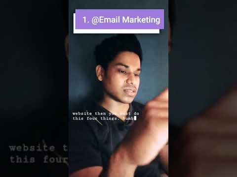 Email marketing to increase website traffic #emailmarketing [Video]