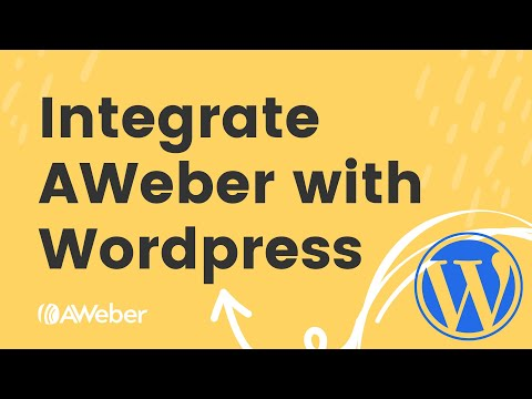 Using WordPress and AWeber to grow your audience [Video]