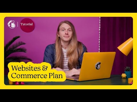 Change Your Websites and Commerce Plan in Mailchimp (October 2021) [Video]