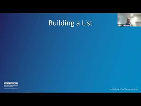 Email Marketing – More than just Newsletters by Ricky [Video]