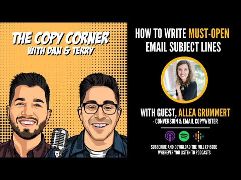 Pro Tips To Writing Must-Open Email Subject Lines—W/ Guest Allea Grummert [Video]