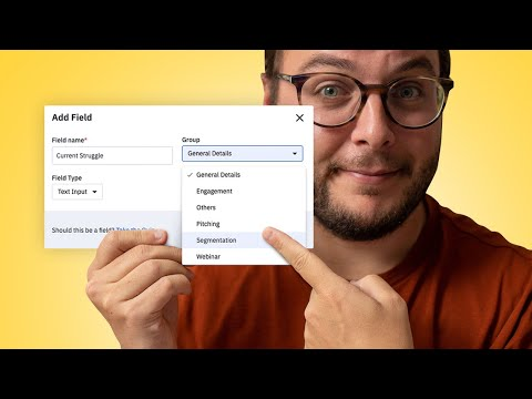 Organize your CUSTOM FIELDS in ActiveCampaign (Quick Tip!) [Video]