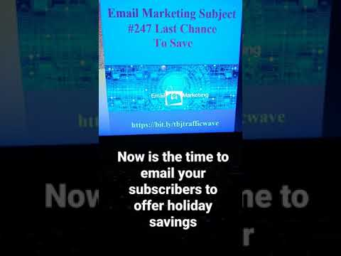 #email #aweber #shorts Email Marketing Subject Line #247 to increase clicks opens sales [Video]
