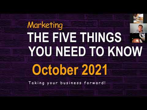 How To Up Your Marketing in Difficult Times Tony Sham Webinar 21 October 2021 [Video]