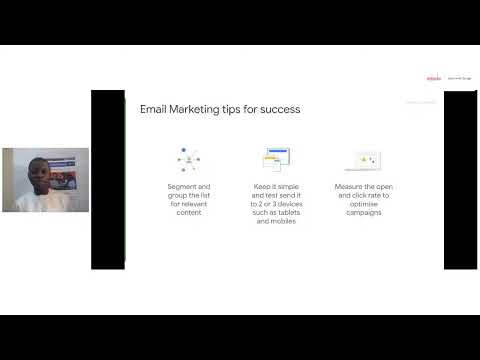 EMO 001|Use Marketing tools and social media to grow your busines|22-10-2021 [Video]