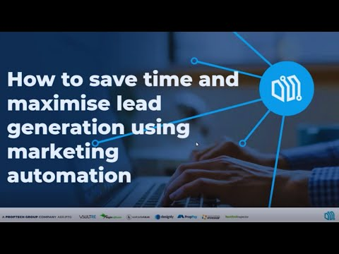 Webinar – How to Save Time and Maximise Lead Generation Using Marketing Automation [Video]