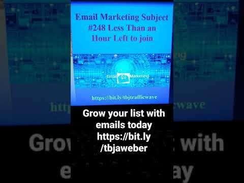 #email #aweber #shorts Email Marketing Subject Line #248 to grow your list and increase sales [Video]