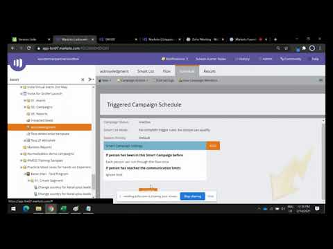 Episode 10 – use smart campaigns – product marketing by using Marketo [Video]