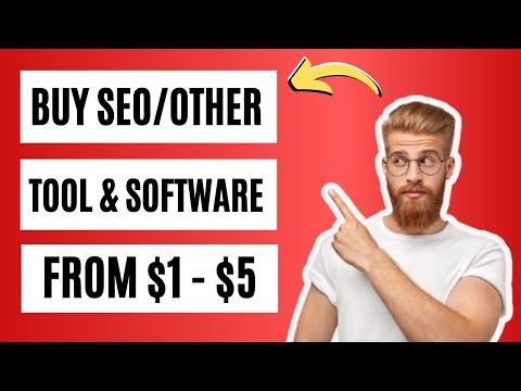 How To Buy SEO Marketing Tools And Software In A Very Low Price [Video]
