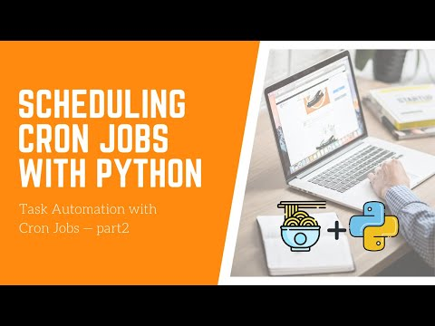 How to Schedule CronJobs to Send Email Notifications — Python Task Automation with CronJobs (part 2) [Video]