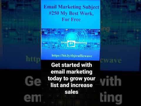 #email #aweber #shorts Email Marketing Subject Line #250 to increase clicks opens sales [Video]