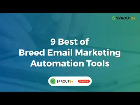 List of Best in Breed Email Marketing Automation Tools [Video]