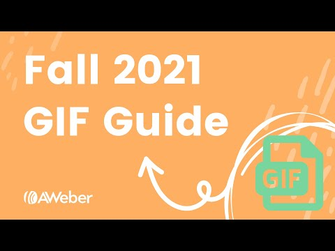 AWeber's 2021 Fall GIF Guide [Video]